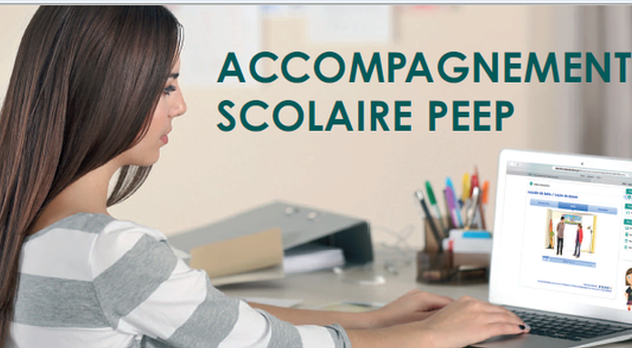Accompagnement scolaire PEEP